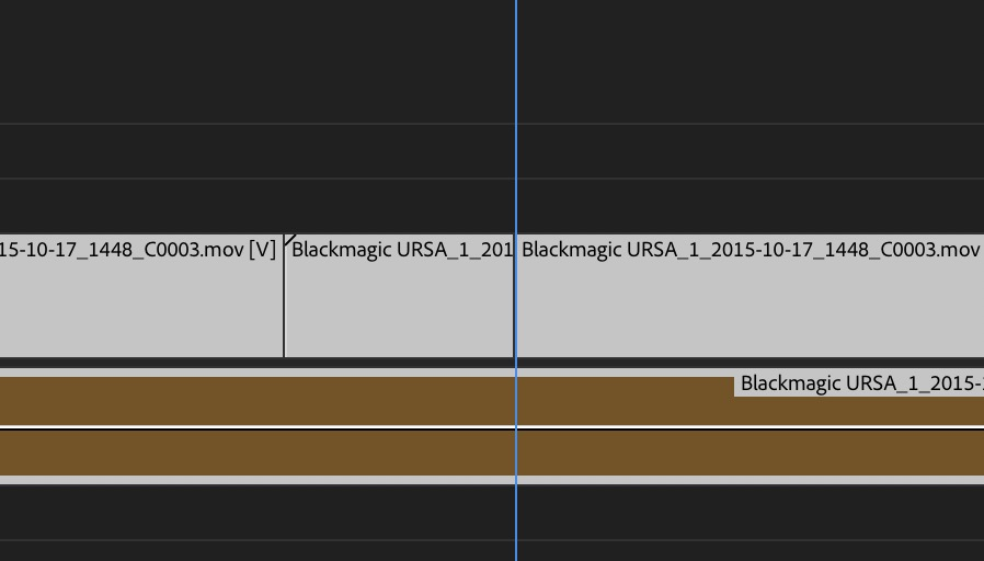 Adobe Premiere Pro Fall 2018 release old timeline highlight