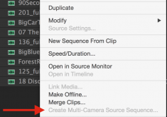 Day 10 #28daysofquicktips – Create an Audio-only Multicam Clip in Premiere Pro