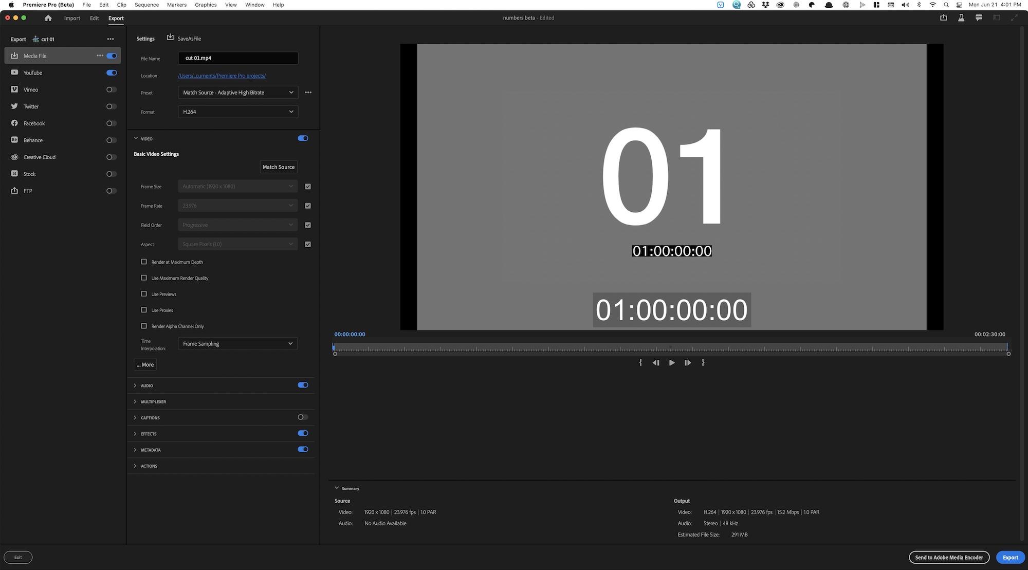 Una nueva experiencia de Adobe Premiere Pro comienza con nuevos flujos de trabajo de IMPORTACIÓN y EXPORTACIÓN 33