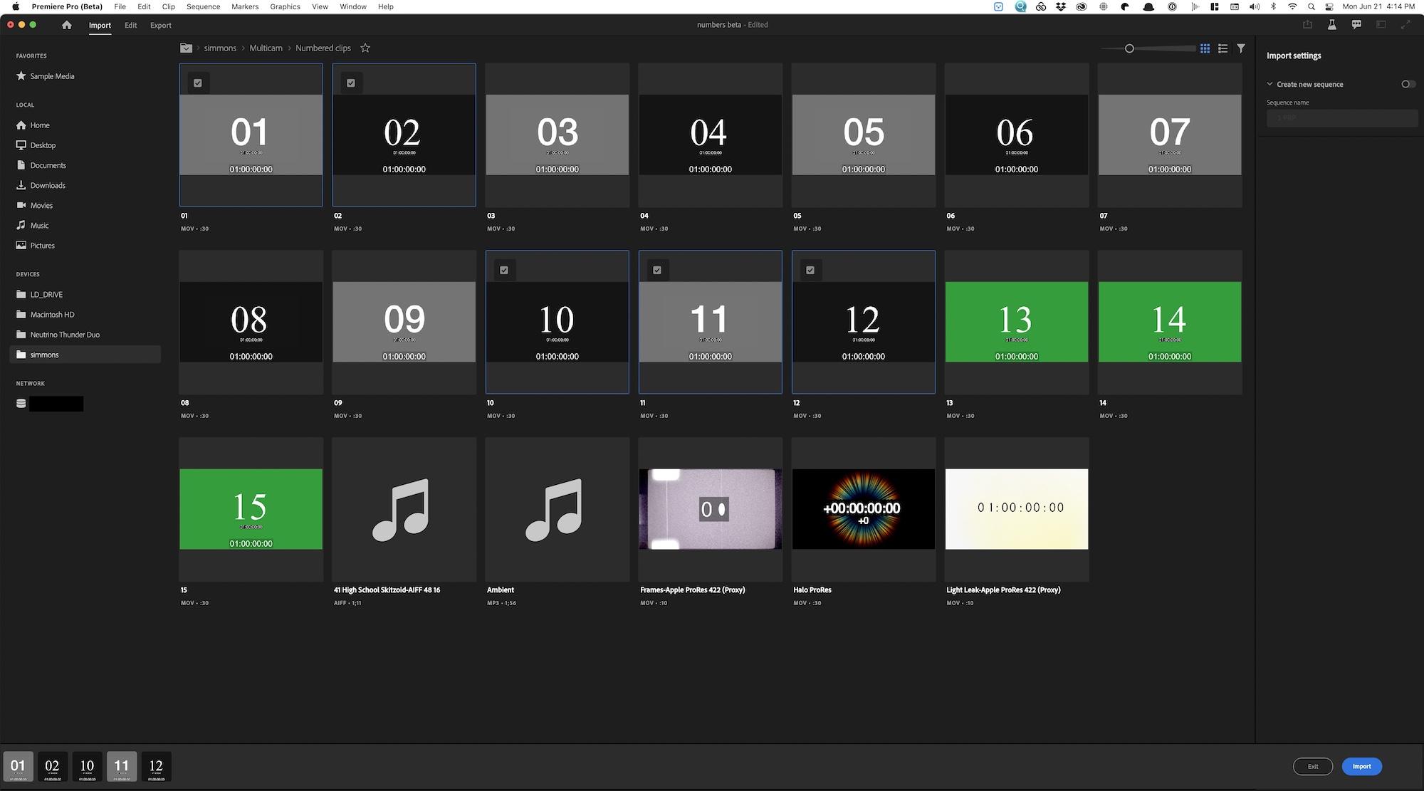 Comienza una nueva experiencia de Adobe Premiere Pro con nuevos flujos de trabajo de IMPORTACIÓN y EXPORTACIÓN 29