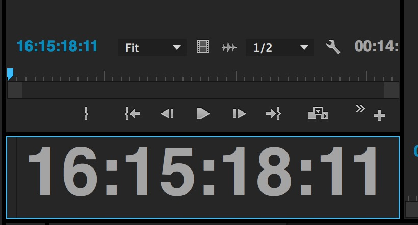 ppro source timecode