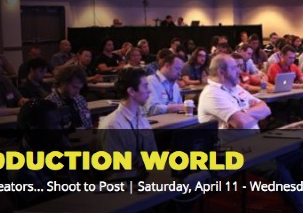My NAB 2015 Post|Production World sessions 1