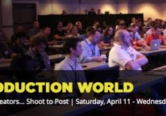 My NAB 2015 Post|Production World sessions