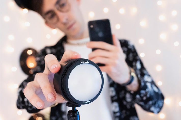Profoto launches C1 and C1 Plus, its first studio lights for smartphones