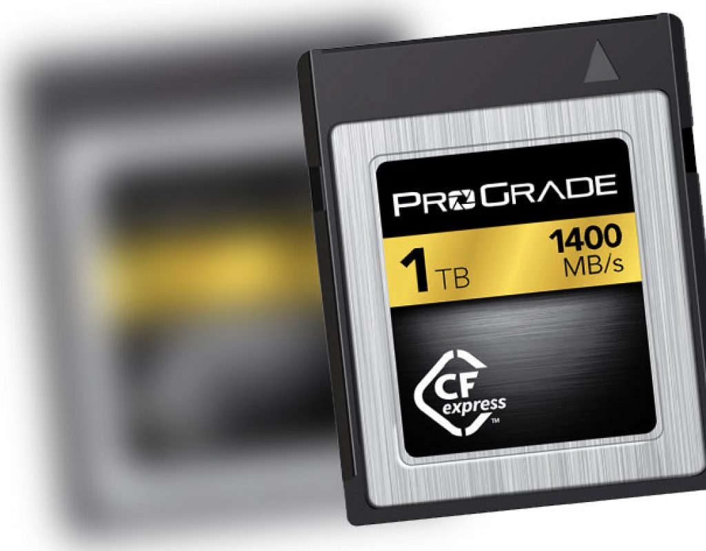 ProGrade Digital CFexpress 1TB memory card speeds up to 1400MB/s