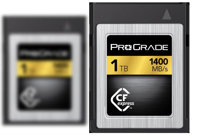 CFexpress 1.0 Technology in 1TB capacity on show at NAB 2018