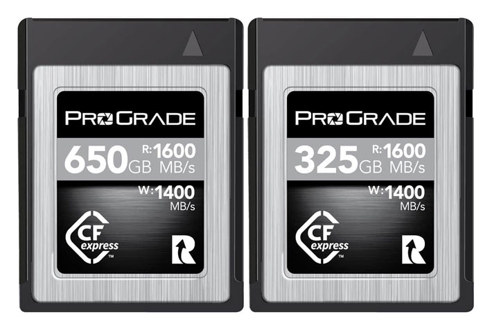 ProGrade Digital: a new CFexpress for cinematic capture of RAW 4K video