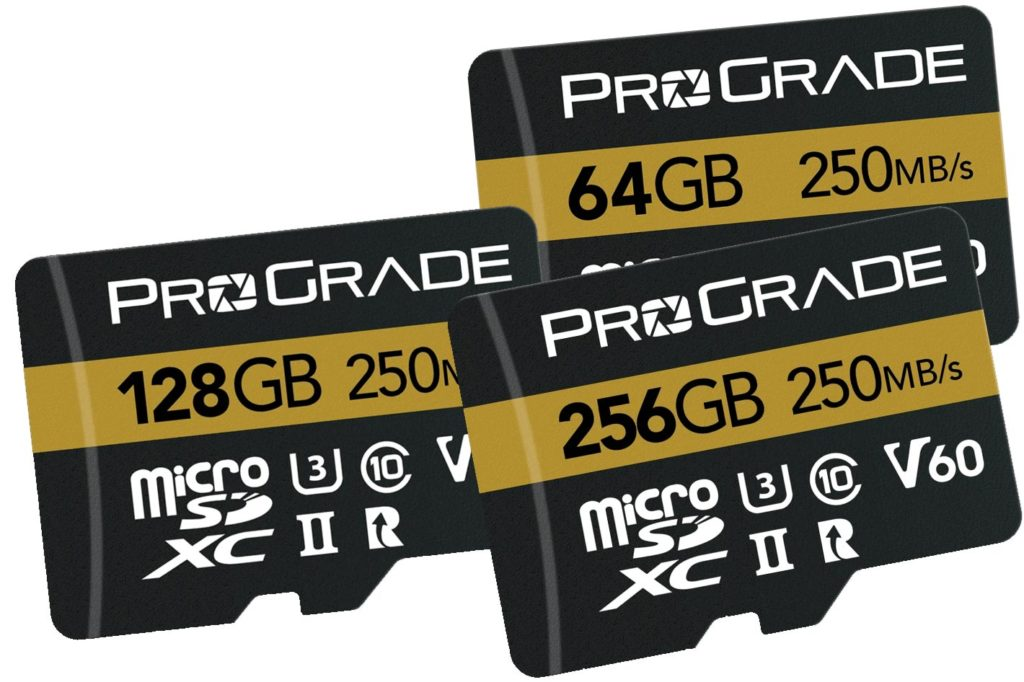 ProGrade Digital improves its microSD line of memory cards