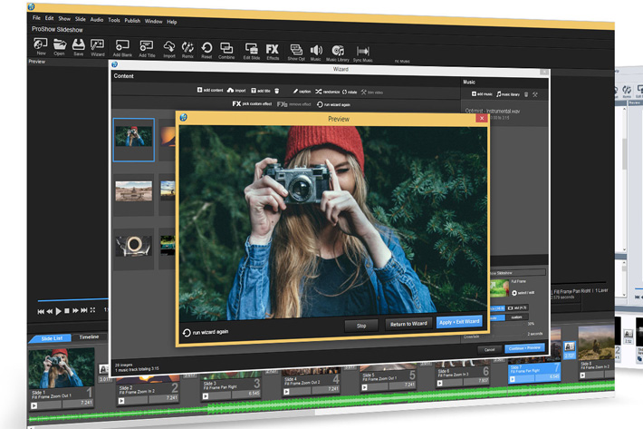 ProShow 8: more magic for photos and video