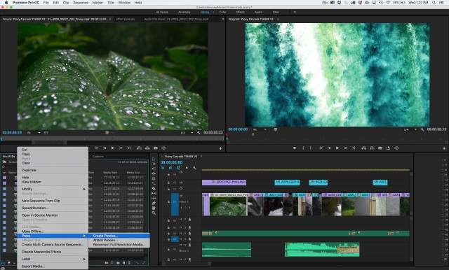 Creative Cloud video 2015.3 – June 2016 update 1