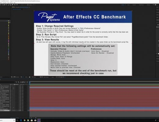 Test your PC or Mac for an optimal After Effects workflow Puget Systems