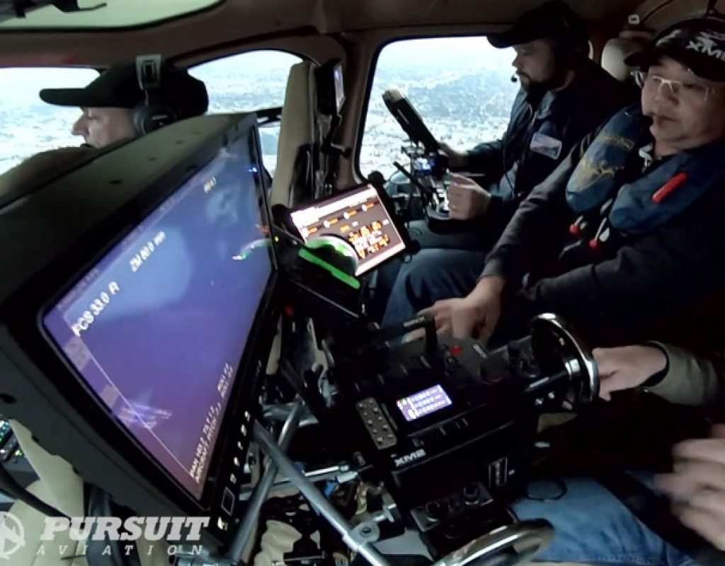 Pursuit Aviation: new way of shooting aerial scenes