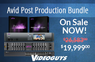 Everything You Need in our Avid Post Production Bundle
