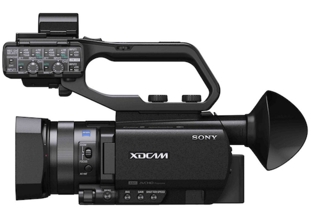 CineDigitalTV demonstrates the PXW-X70 constrained 60 Mb/s 4K UHD 3