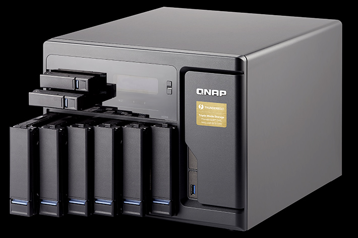 QNAP: new Thunderbolt NAS solutions