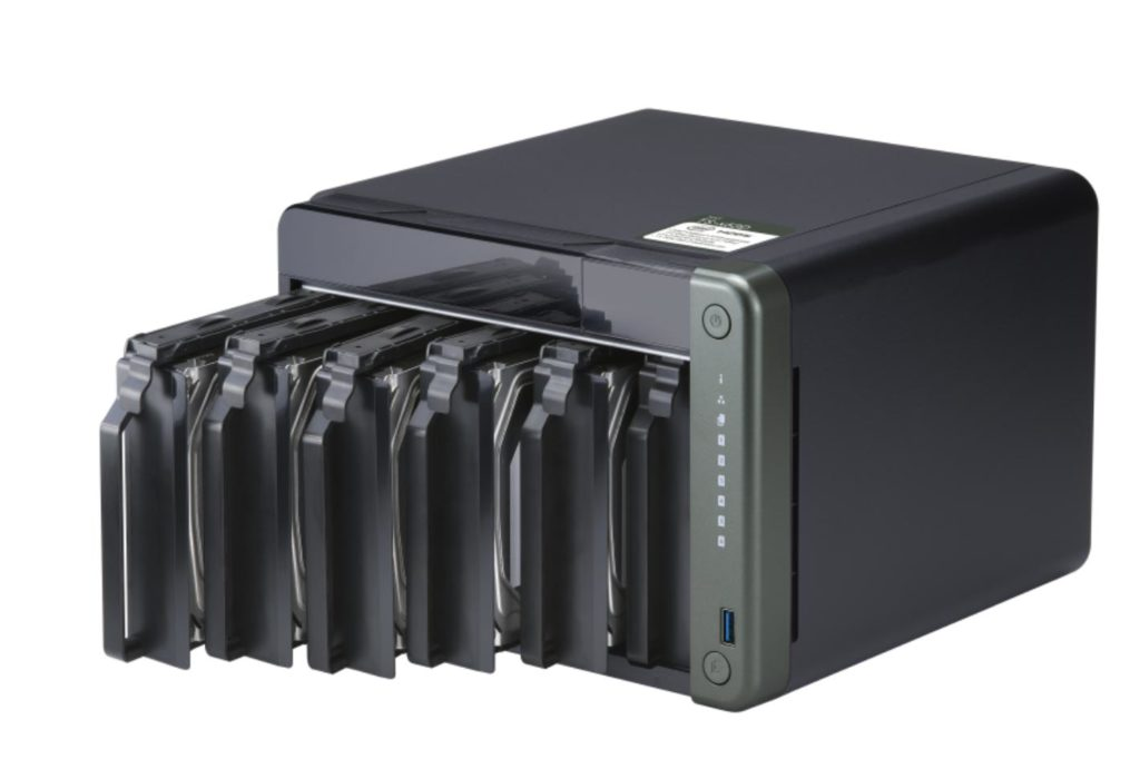 QNAP TS-x53D 2.5GbE NAS: 2.5 Gigabit over existing CAT5e