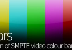 qp_Bars generates SMPTE color bars