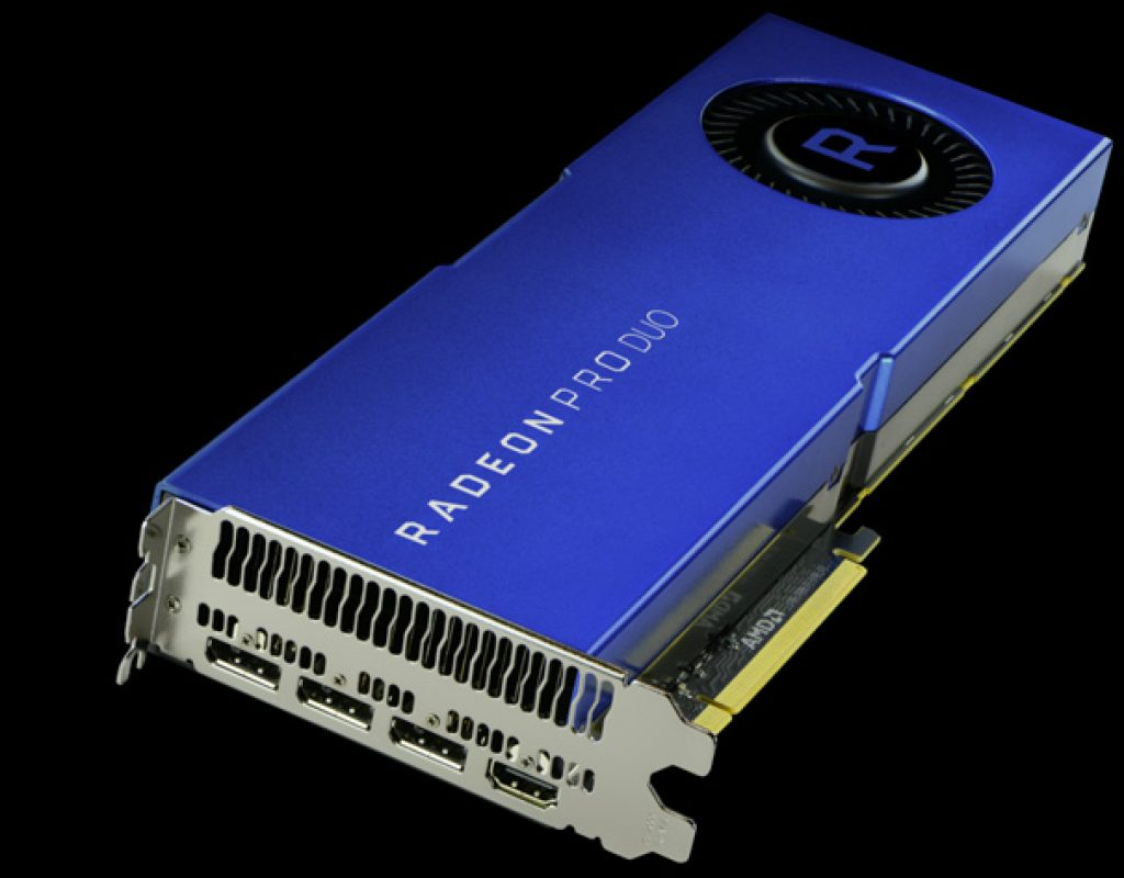 Radeon Pro Duo for professional VR content creation
