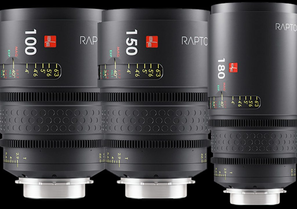 Raptor lenses landed in Hollywood
