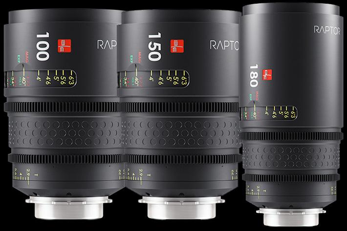 Raptor lenses landed in Hollywood