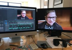 "Editor Carla Gutierrez on crafting ""RBG"""