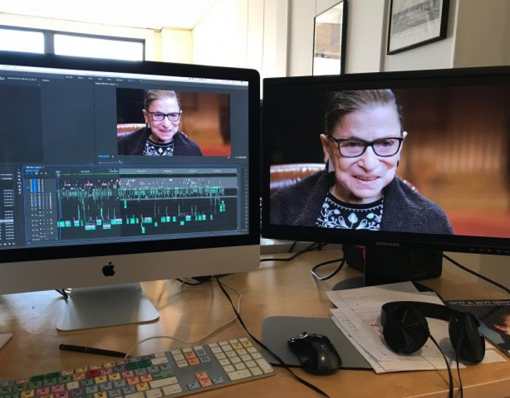 "Editor Carla Gutierrez on crafting ""RBG"" 1"