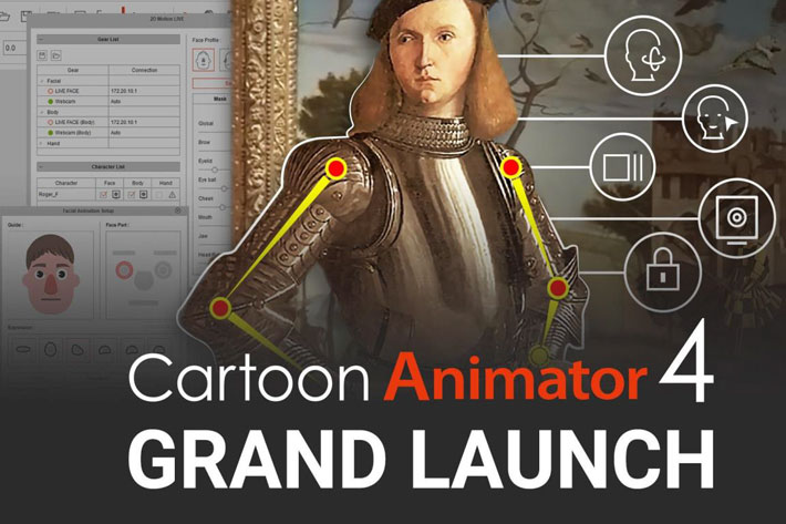 Cartoon Animator 4 and Facial Mocap: real time animation for anyone 3
