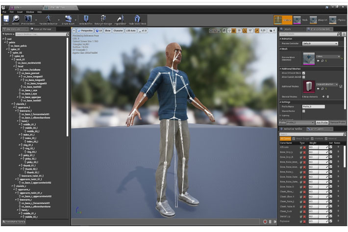 Reallusion plug-in for Unreal Engine makes character animation