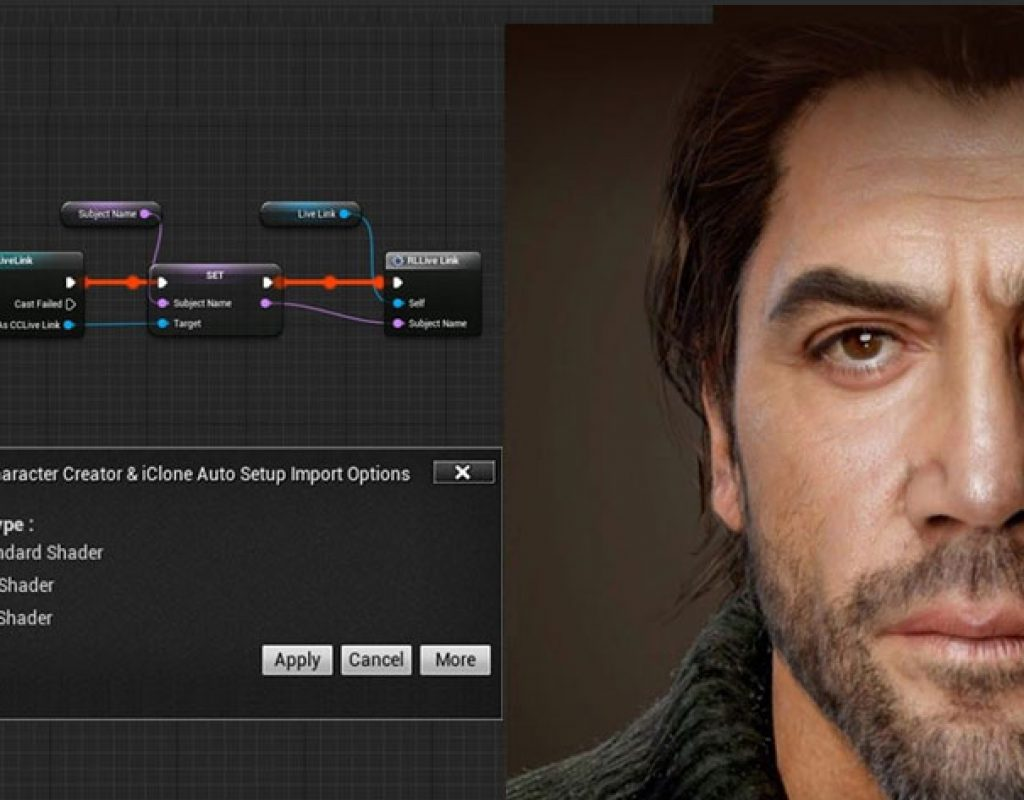 iClone Unreal Live Link: real-time digital humans and animation for Unreal