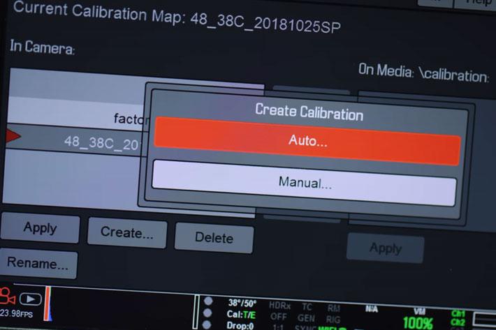 RED Tech explains Black Shade Calibration