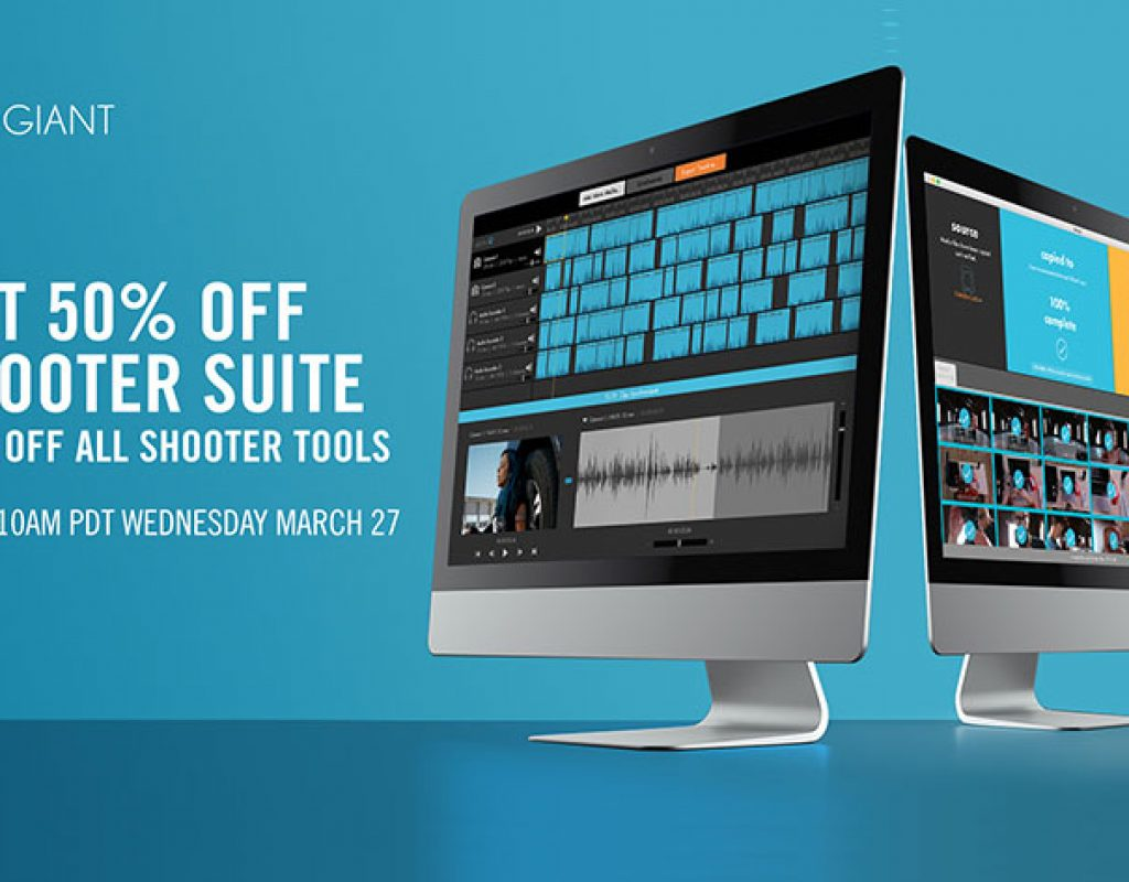 Red Giant Shooter Suite is 50% Off