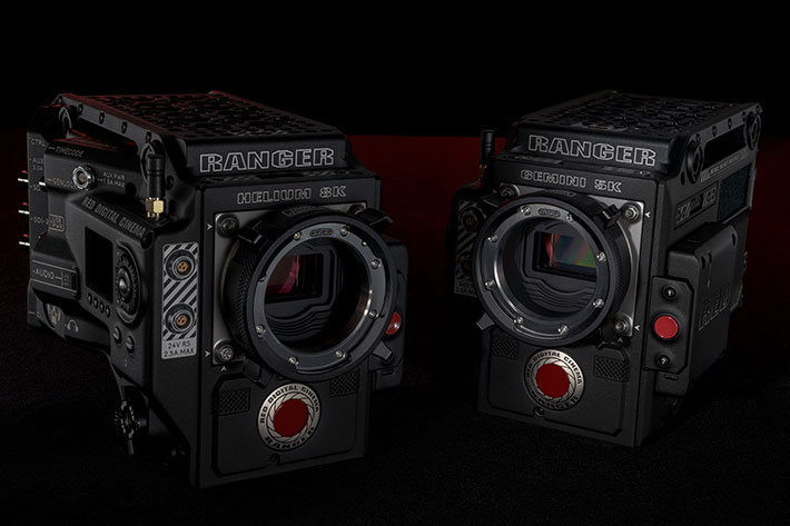 RED RANGER camera ecosystem gets Helium and Gemini sensors