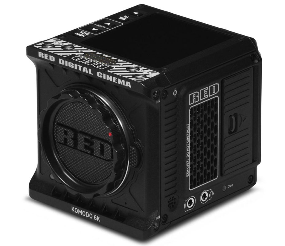 RED KOMODO 6K S35 is now available