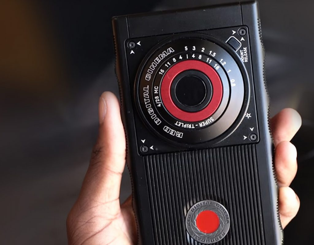 RED Hydrogen One: prototype hands-on