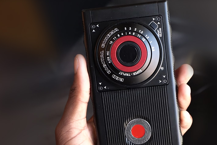 RED Hydrogen One prototype now revealed