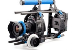 Redrock Micro Delivers Another First: The New ultraCage | blue for Canon EOS C100