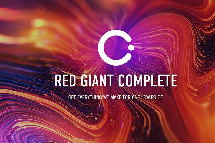 Red Giant Complete: all the Red Giant tools at one low price 1