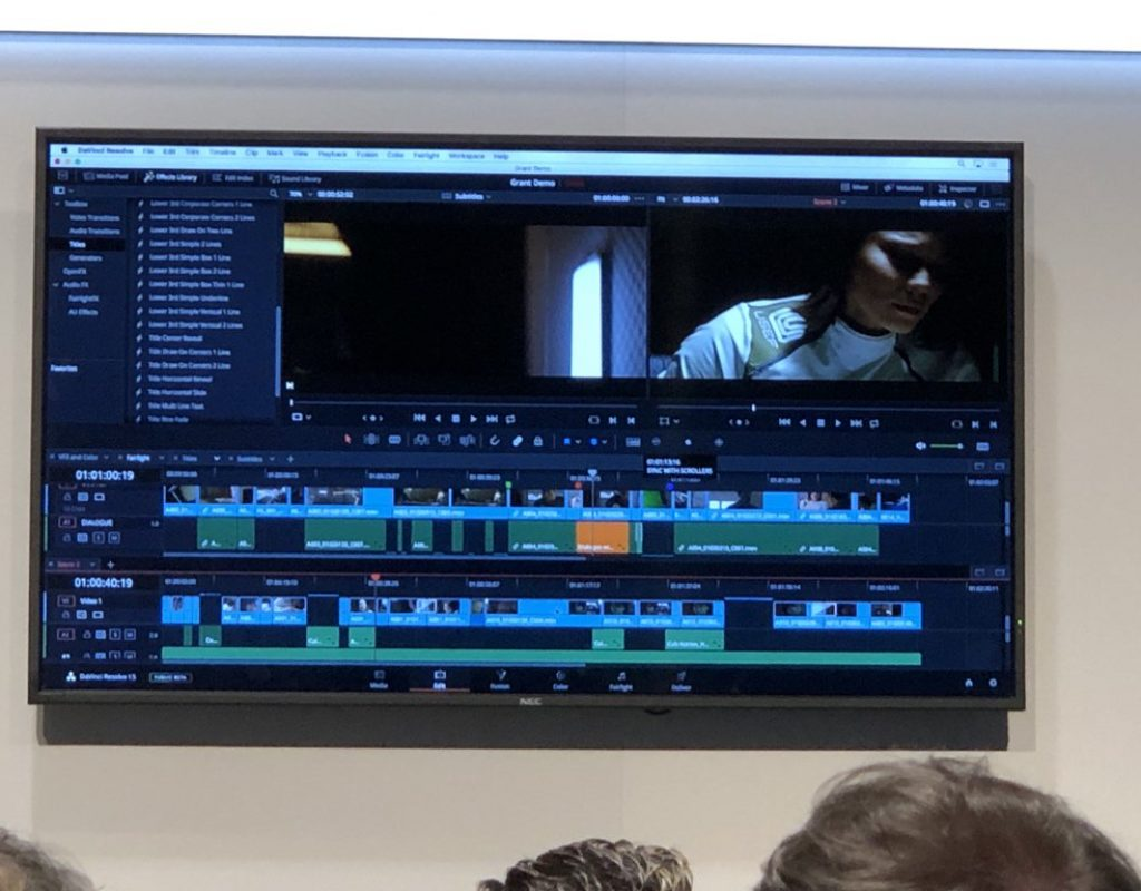 Random thoughts from the Blackmagic NAB 2018 press conference 1