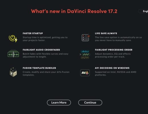 Blackmagic Design DaVinci Resolve 17.2 released 6