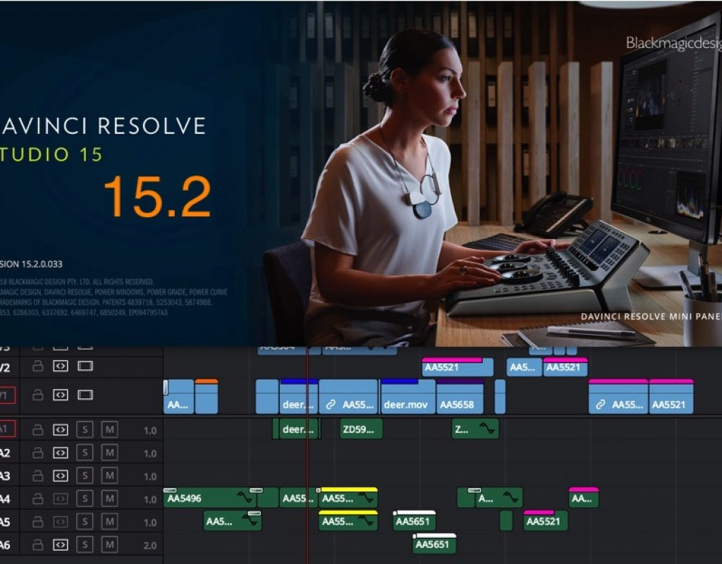 DaVinci Resolve 15.2 update continues Blackmagic's march toward post-production dominance 1