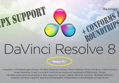 Update Alert: DaVinci Resolve 8.1: FCPX support, lots of little things