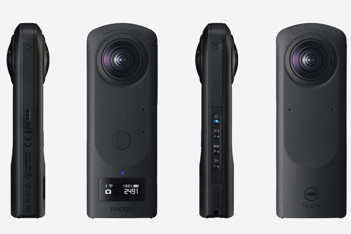Ricoh THETA Z1: Android camera shoots 360-degree videos in 4K UHD at 30fps 3