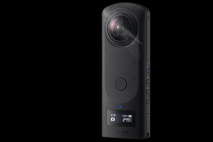 Ricoh THETA Z1: Android camera shoots 360-degree videos in 4K UHD at 30fps 4