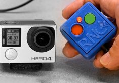 BacPac: new control for GoPro Hero 4