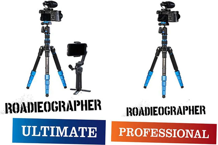 Roadieographer Collection: the essential kits for roadieographers