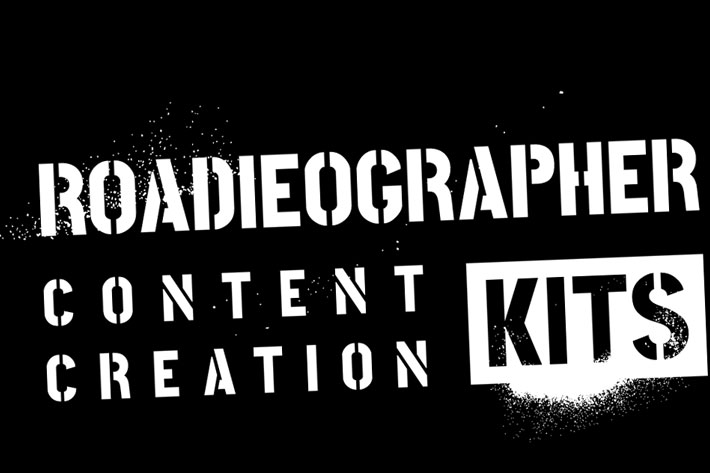 Roadieographer Collection: the essential video and photo kits for roadieographers 2