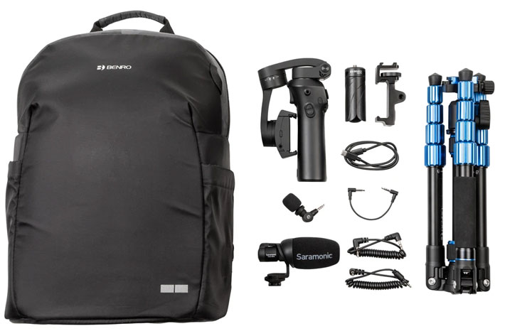 Roadieographer Collection: the essential video and photo kits for roadieographers 1