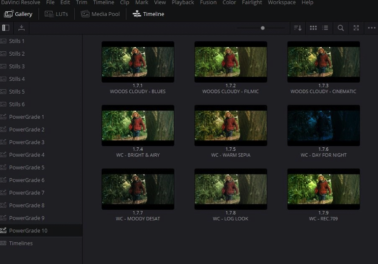 Using LUTs and Powergrades To Streamline Your Davinci Resolve Colour Workflow 10