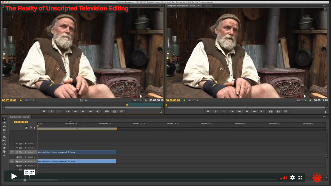 The Reality of Unscripted Television Editing 2