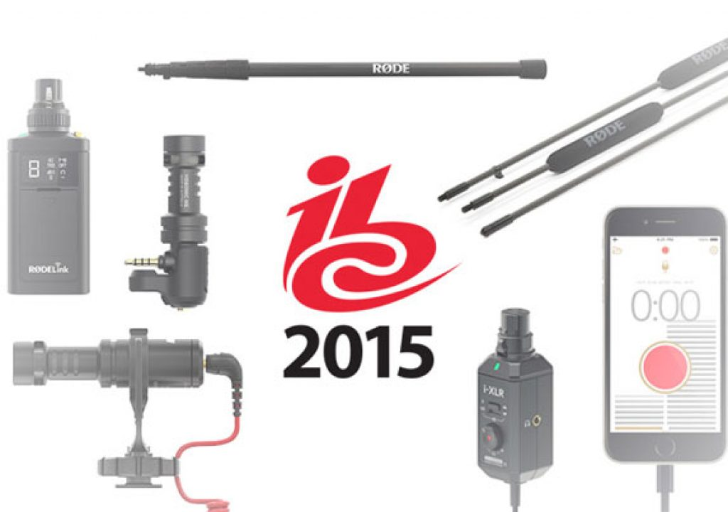RØDE: six new products at IBC 1